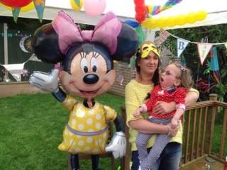 Harriet Eleanor Gregory reaches her Milestone 5th Birthday